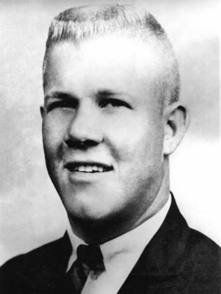 Mass killer ... Charles Whitman's brain is believed to have gone missing.