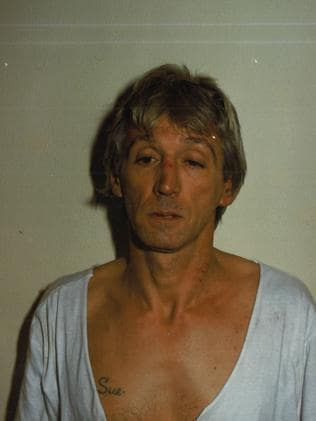 Rodney Collins was to become of of the state's worst ever hitmen. Picture: Victoria Police
