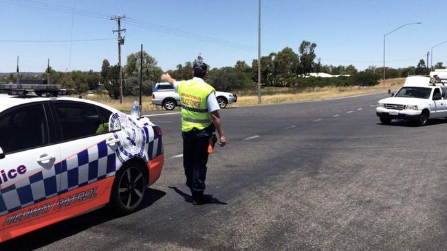 Two people have been confirmed dead in the accident. Picture: Lily Cardis/Twitter