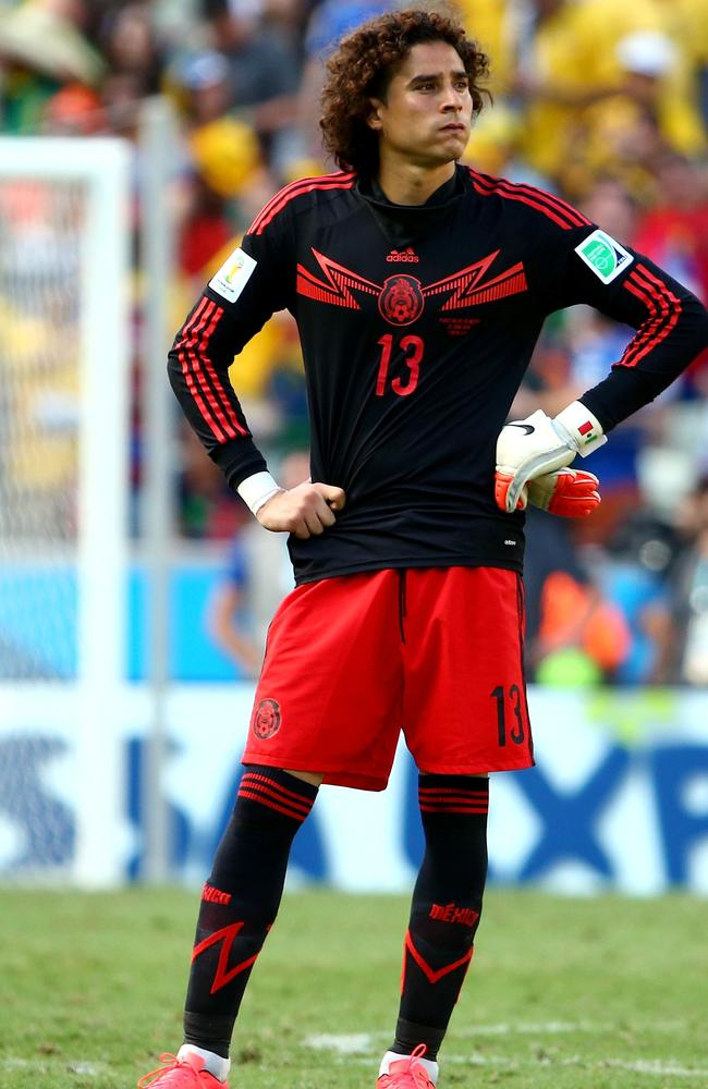 Guillermo Ochoa was a stand out between the posts for Mexico