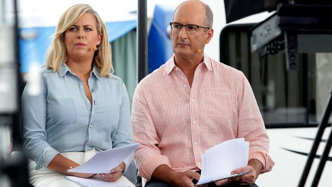 Samantha Armytage and David Koch.