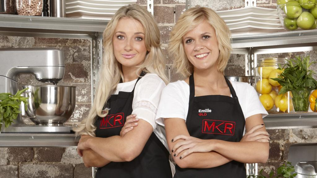 My kitchen rule s first deaf contestant emilie biggar for Y kitchen rules contestants