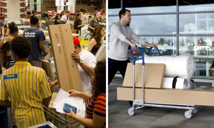 IKEA has finally expanded home delivery to Sydney but it comes at a price