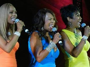 """The Pointer Sisters, """"Yes We Can Can"""", have replaced June, who died in 2006, with Ruth's"""
