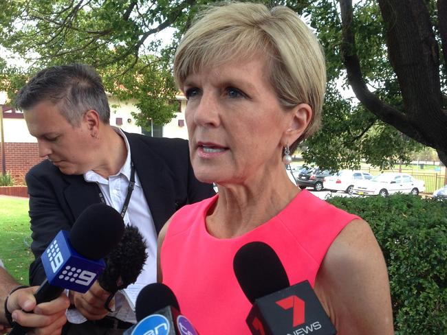 Foreign Minister Julie Bishop urged Australians in France to exercise a high degree of caution. Pic: AAP Image/Angie Raphael