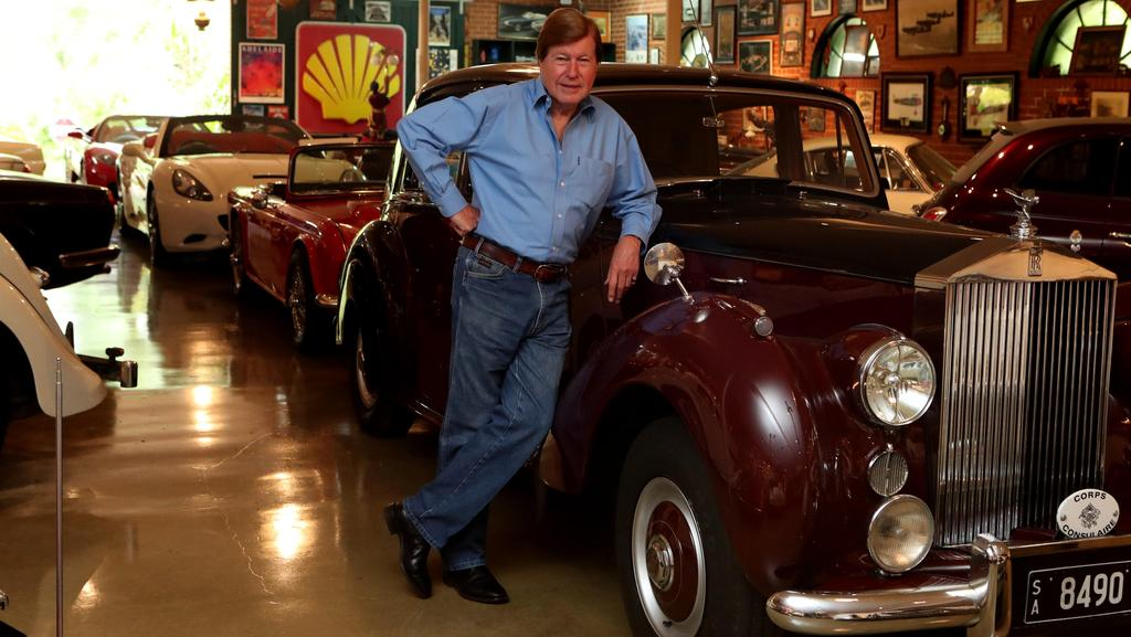 Stunning collection: Radio host reveals his fleet of private cars ...