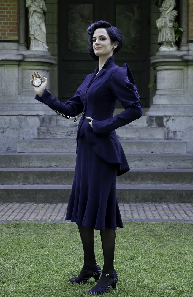 Green as the bird-like Miss Peregrine in Tim Burton's latest cinematic flight of fantasy. Picture: Twentieth Century Fox