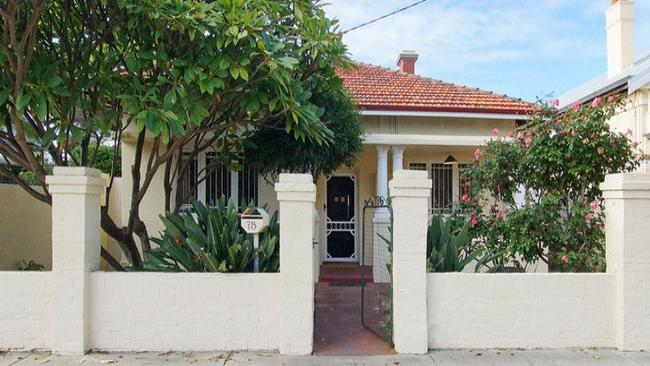 Under contract ... A cute Perth cottage with an asking price from $1.099 million. Picture: realestate.com.au