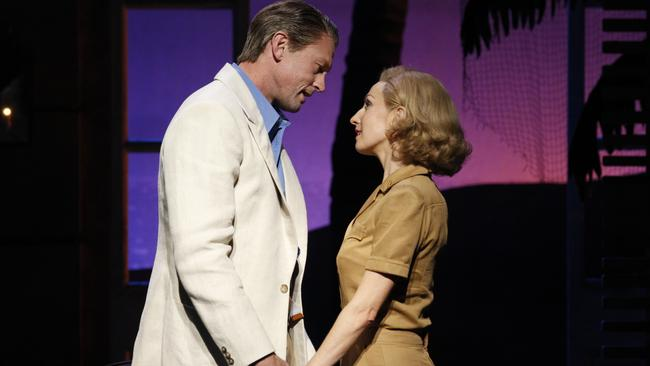 <i>South Pacific </i>— Lisa McCune as Nellie Forbush & Teddy Tahu Rhodes as Emile De Becque