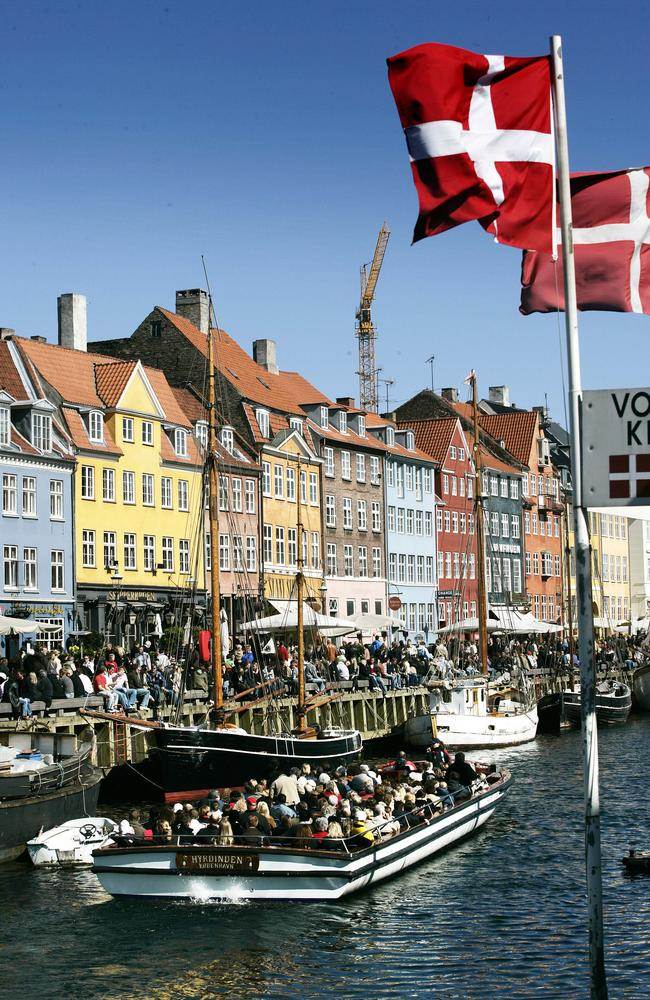 The 2016 World Happiness Report seeks to quantify happiness as a means of making societies healthier and more efficient. Pictured the number one place, Denmark. Picture: Esben Nielsen/Polfoto via AP