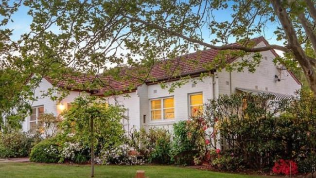 Beautiful trees frame the property at 7 Ridley St, Turner which sold at auction. Picture: realestate.com.au