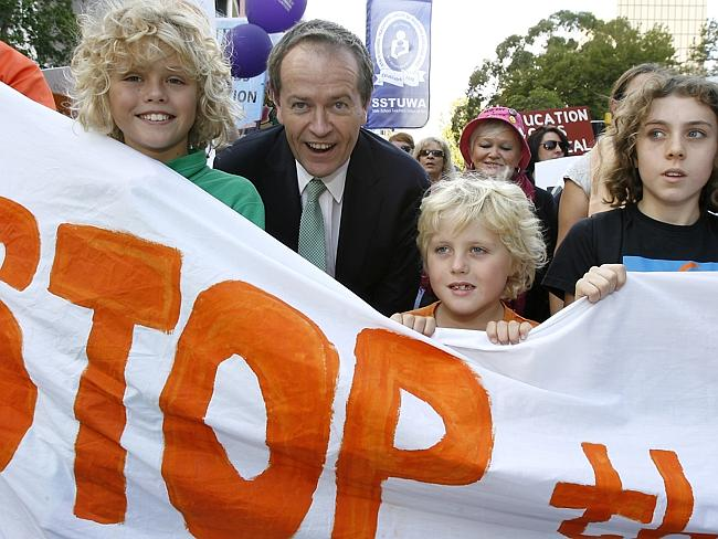 Bill Shorten's ties with unions is loosening. Photo Marnie Nirme.