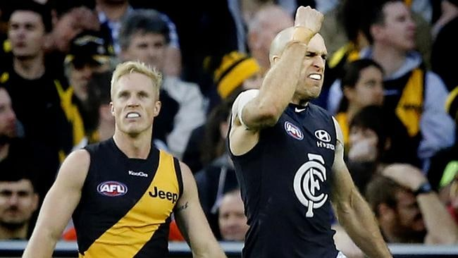 Richmond and Carlton play in round two this year.