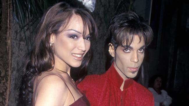 Prince and Mayte in 1998. Photo: Ron Galella, Ltd./WireImage