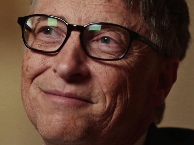 Bill Gates didn't finish his degree at Harvard.