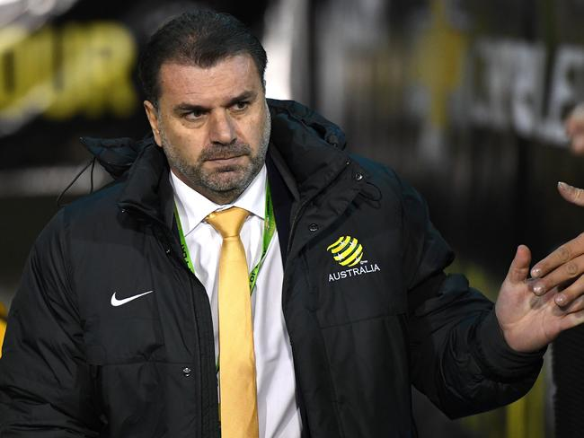 Socceroos coach Ange Postecoglou has made a key selection switch.