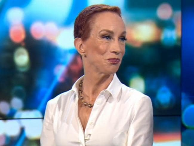 Comedian Kathy Griffin was recently in Australia and on Channel Ten's The Project. Picture: Supplied