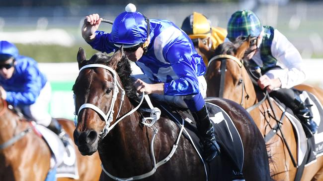 Winx was taken out of her comfort zone after missing the start in the Warwick Stakes.