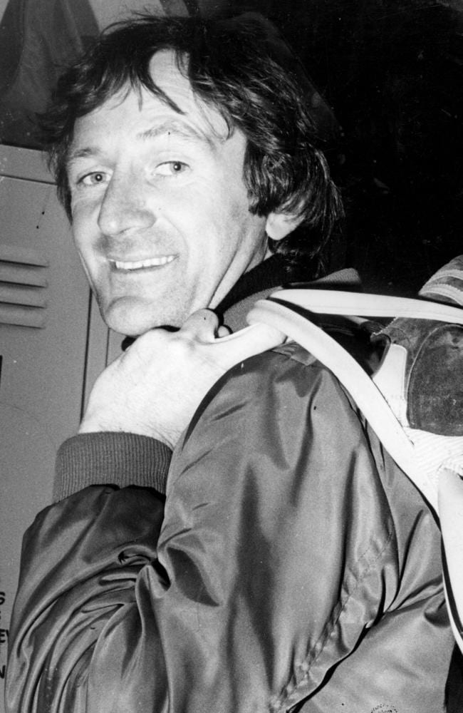 "Kevin Sheedy was famously referred to as the ""back pocket plumber"" by coach Tom Hafey."