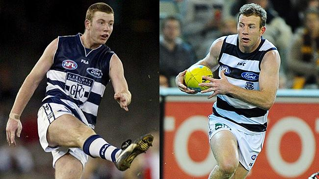 Steve Johnson was another Geelong 2001 recruiting coup.