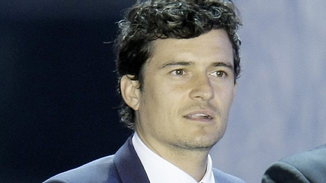 Orlando Bloom is the new face of British Airways. Picture: AP