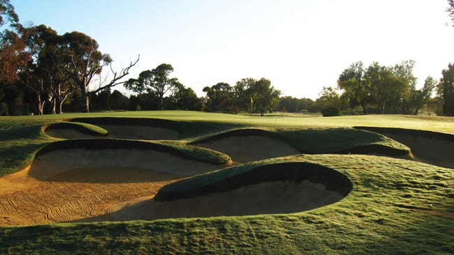 A look at the new East Course at the Grange Golf Club in Adelaide.