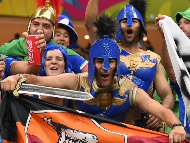 Italy fans relive the last time their country was an international power.