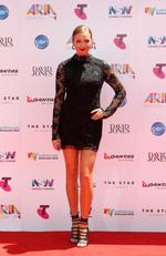 Ksenija Lukich at the 2015 Aria Awards held at The Star in Pyrmont. Picture: Christian Gilles