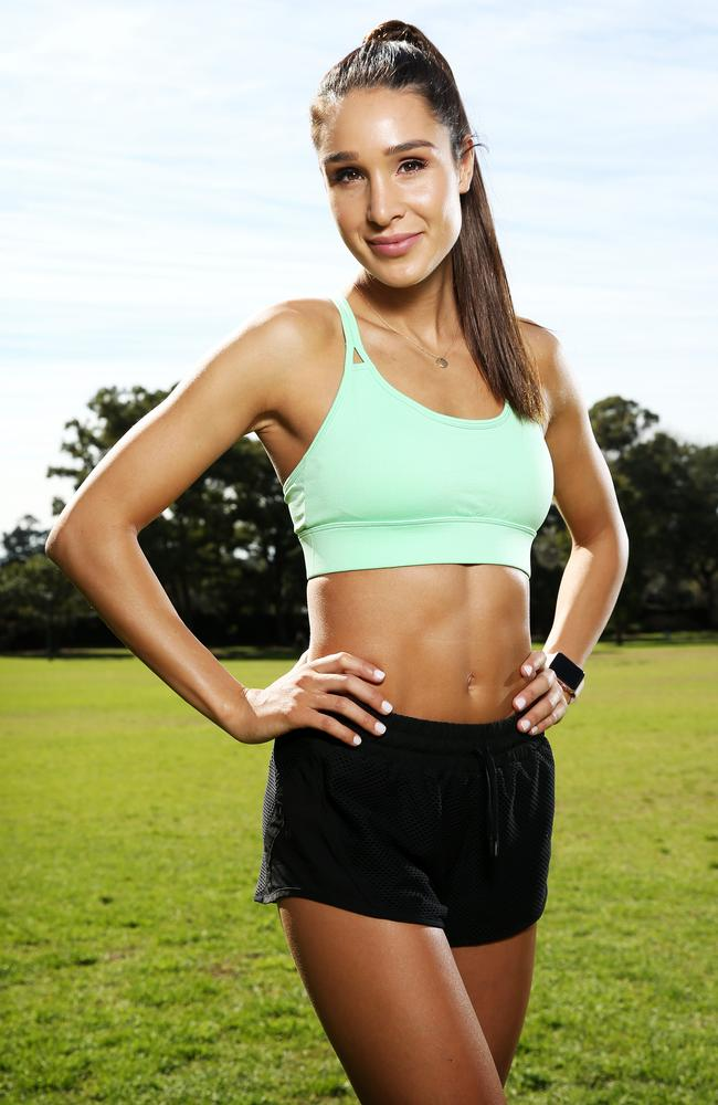 "Fitness app entrepreneur Kayla Itsines: ""Our aim is to motivate and inspire."" Picture: Tim Hunter"