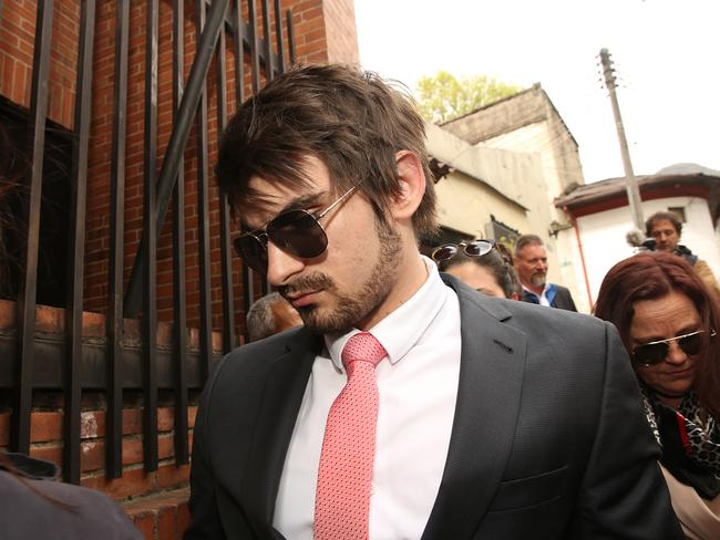 Boyfriend Scott Bainbridge attended her court hearing in Bogota. Picture: Vanessa Hunter/The Australian
