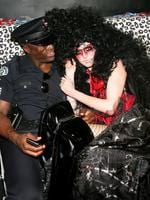 Partners in crime ... Heidi Klum and her then husband singer Seal attend Klum's annual Halloween party at Happy Valley October 31, 2005 in New York City. Picture: Getty