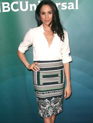 Meghan Markle attends the NBC/Universal 2014 TCA Winter Press Tour in 2014. Picture: Tommaso Boddi/WireImage