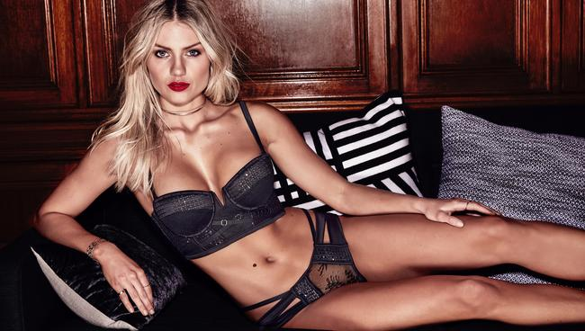 Elyse Knowles for Bras N Things's Vamp collection.