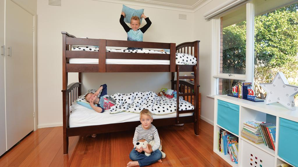 Three s company when space is at a premium but the boys are learning about  sharing. Children Sharing Bedroom Law   louisvuittonukonlinestore com