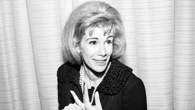 Joan Rivers in 1965. Photo: AP Photo/Dan Grossi, File.