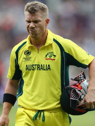 David Warner has been a voice for the players.