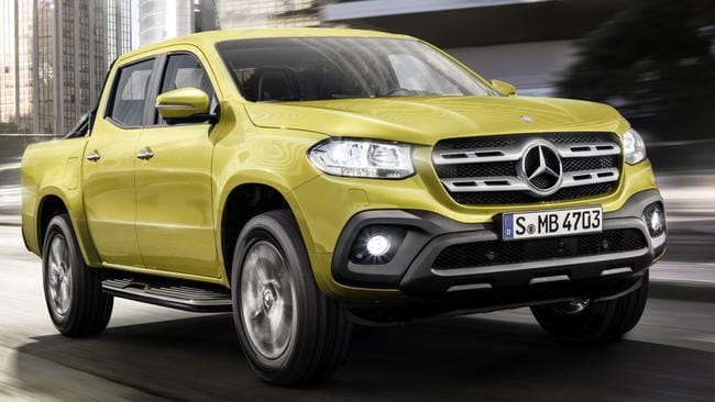 2018 Mercedes X Class Ute Unveiled