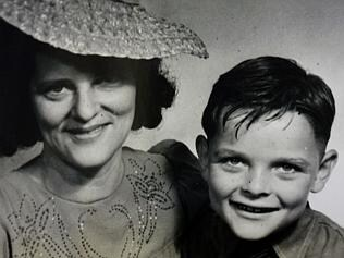 Crash victim Liam O'Connor with his mum, Julia.