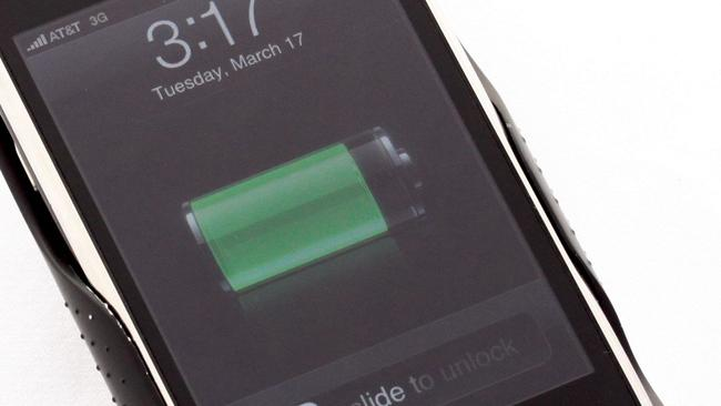 Seeing a green battery, rather than red would be a welcomed sight.