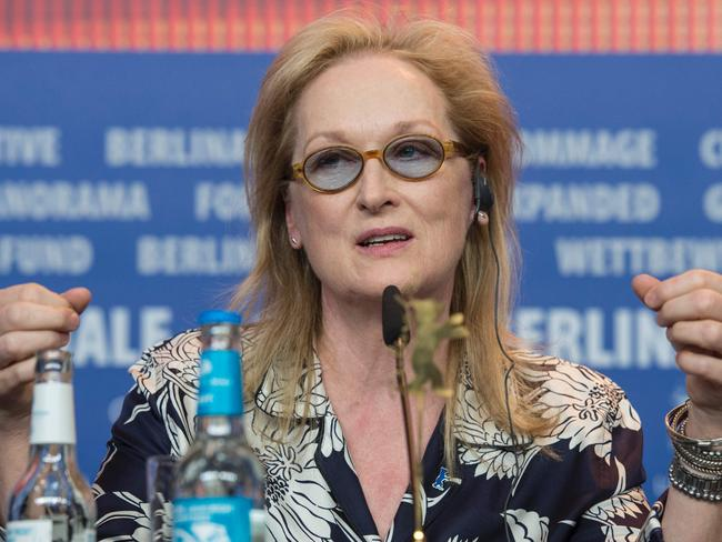 Streep caused controversy with her comments on diversity in film.