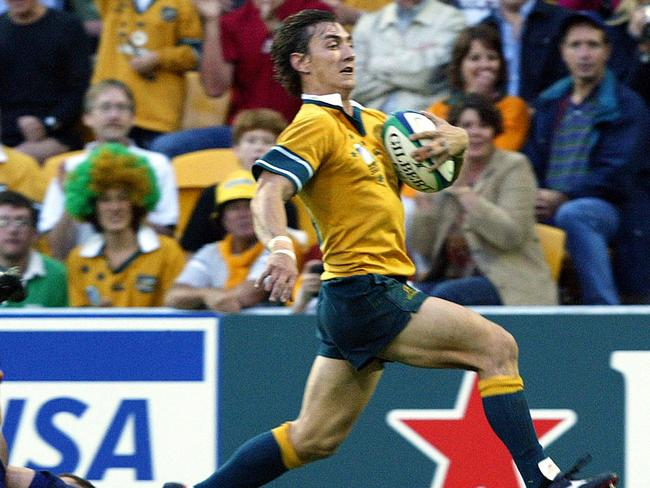 Mat Rogers also made his international transition to rugby through the Baa-Baas.