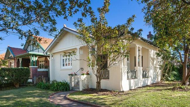REAL ESTATE: 56 Noble St Five Dock NSW 2046. Picture: realestate.com.au