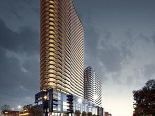 Supplied Editorial Fwd: Asian Pacific Group granted permit for the tallest multi-use complex in Box Hill