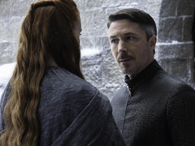 Littlefinger says he wants to rule with Sansa at his side, but is it another ploy? Picture: Supplied