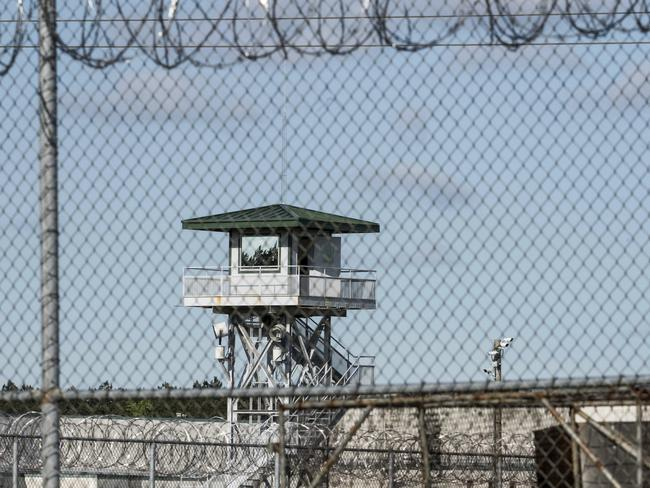 This shows the Lee Correctional Institution on Monday, April 16, 2018, in Bishopville, South Carolina, where multiple inmates were killed. Picture: AP