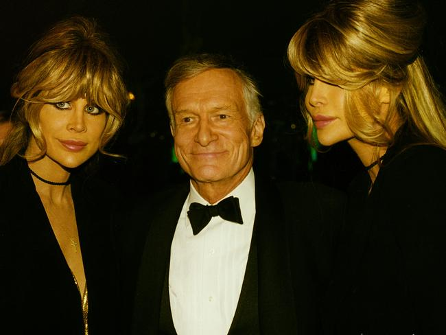 Shane and Sia say Hugh Hefner has been hugely supportive.