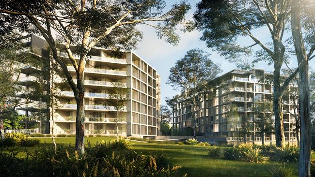 Large-scale apartment building has helped drive up the number of homes listed for sale by 23 per cent.