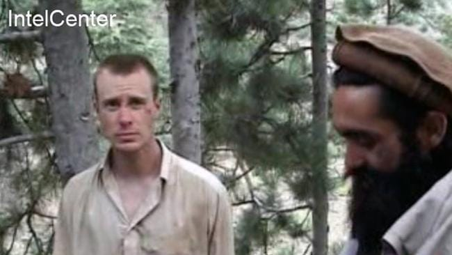 What happened? ... Bowe Bergdahl in a video released by the Taliban. Fellow soldiers claim he walked off his observation post.