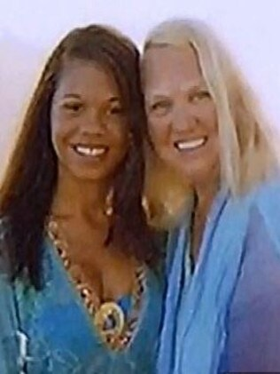 Happier times ... Heather Mack, 19, with Sheila von Weise-Mack. Picture: NBC
