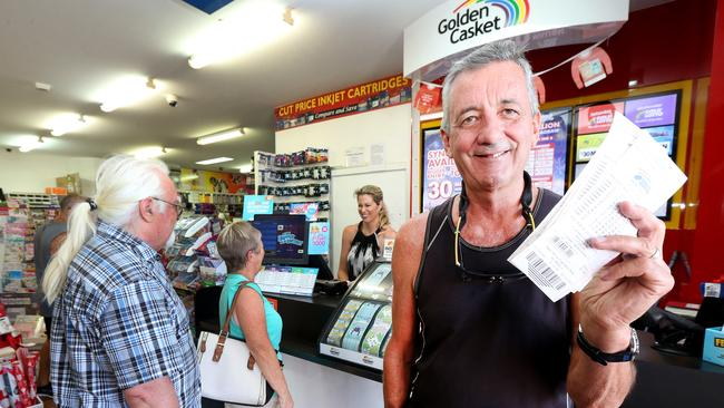 You have the same chance of winning, but at least state-owned lotteries pay for schools, roads and hospitals. Picture: Mike Batterham